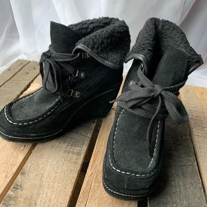 Rocket Dog Wedge Ankle Boots